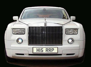 WPhantom Rolls Royce Car Hire